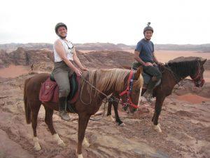 Jordanie à cheval 2013