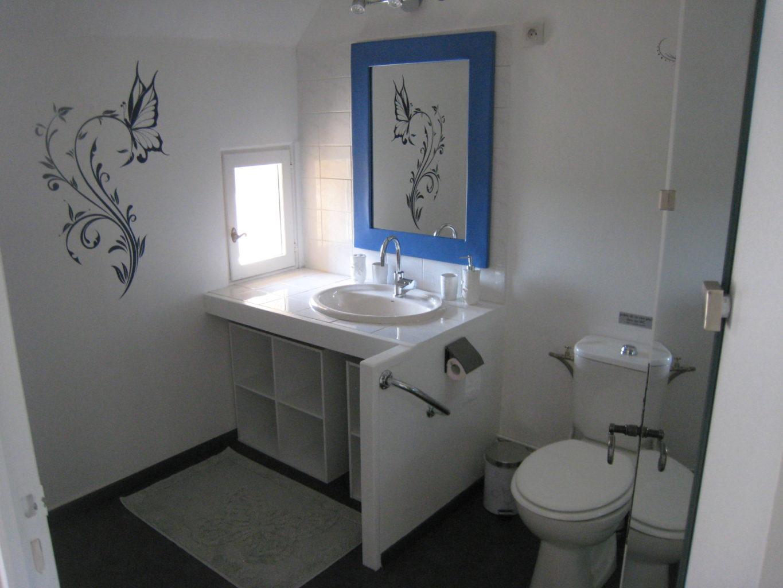Chambre Papillon Salle d'eau avec WC